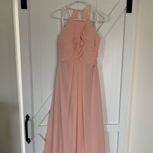 Azazie Ginger Bridesmaid Dress (Pearl Pink)